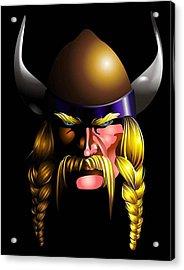 Mad Viking Acrylic Print