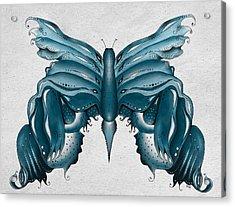 Madam Butterfly Acrylic Print by Brenda Bryant