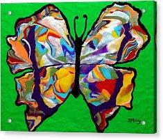 Madam Butterfly Acrylic Print