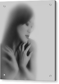 Madam Butterfly  Acrylic Print by Mayumi Yoshimaru