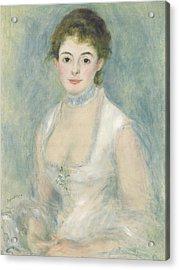 Madame Henriot Acrylic Print