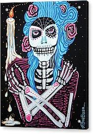 Madame Muertos Acrylic Print