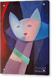 Mademoiselle Acrylic Print by Lutz Baar