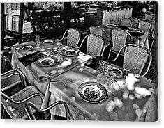 Acrylic Print featuring the photograph Madera Table For Lunch by Rick Bragan