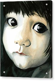 Madi's Eyes Acrylic Print