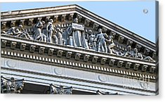 Madison Wisconsin Capitol Building - 07 Acrylic Print by Gregory Dyer