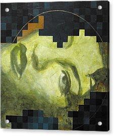 Madonna 1 Acrylic Print by Sandra Cohen