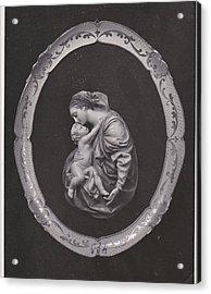 Madonna And Child Acrylic Print by Allan Koskela
