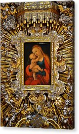 Madonna And Child By Lucas Cranach Acrylic Print