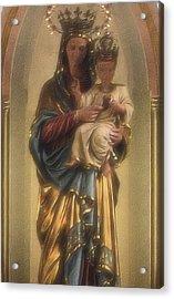 Madonna And Child Acrylic Print