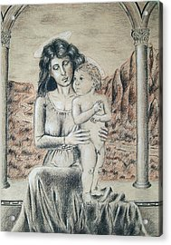 Madonna And Child Acrylic Print