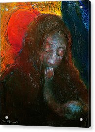 Madonna Acrylic Print by Daniel Bonnell