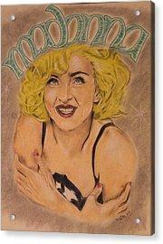 Madonna  Acrylic Print by Michael McGrath