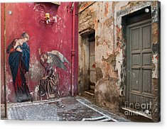 Madonna Of The Alley Acrylic Print
