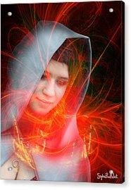 Madonna Of The Stars Acrylic Print by Stephen Paul West
