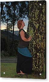 Madonna Of The Tree Acrylic Print