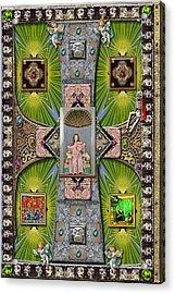 Madonna Of Valladolid Mexico Acrylic Print
