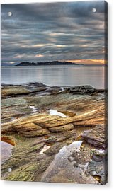 Madrona Sunrise Acrylic Print by Randy Hall