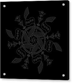 Maelstrom Inverse Acrylic Print