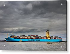 Maersk Container Ship. Acrylic Print