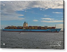 Maersk Line Beaumont Acrylic Print