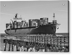 Maersk Shipping Line Acrylic Print