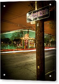 Magazine And Webster Acrylic Print by Ray Devlin