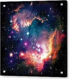 Magellanic Cloud 1 Acrylic Print by Jennifer Rondinelli Reilly - Fine Art Photography