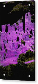 Magenta Dwelling Acrylic Print