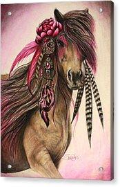 Magenta Warrior  Acrylic Print