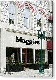 Maggie's Acrylic Print