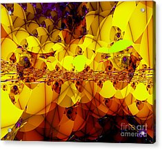 Acrylic Print featuring the digital art Best Places To Live by Hai Pham