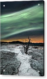 Magic Aurora Acrylic Print