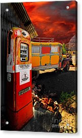 Magic Bus Ride Acrylic Print