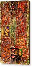 Magic Carpet Acrylic Print by Bellesouth Studio