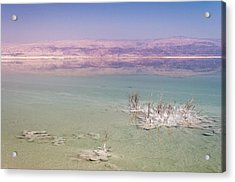 Magic Colors Of The Dead Sea Acrylic Print