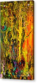 Magic Forest 2 Acrylic Print by Michelle Dommer