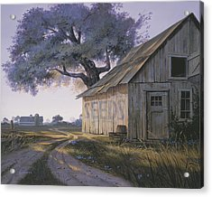 Acrylic Print featuring the painting Magic Hour by Michael Humphries