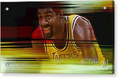 Magic Johnson Acrylic Print