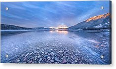 Magic Light // Lake Mcdonald, Glacier National Park Acrylic Print by Nicholas Parker