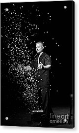 Magic Man Acrylic Print by Randall  Cogle