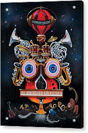 Magic Music Machine Acrylic Print