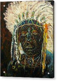 Magic Powers,  Native American Indian Chief Acrylic Print