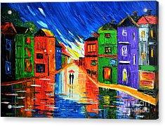 Magic Rain Acrylic Print
