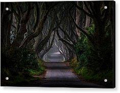 Magic Road Acrylic Print
