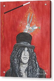 Magic Slash Acrylic Print