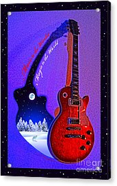 Magic To The World... Music To The World .2 Acrylic Print by Gem S Visionary
