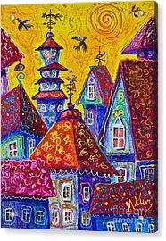Magic Town 3 Acrylic Print