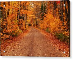 Magical Autumn Mystery Acrylic Print