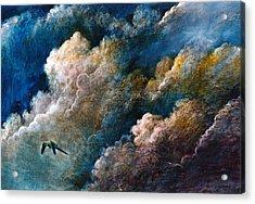 Magical Journey Acrylic Print by Frank Robert Dixon